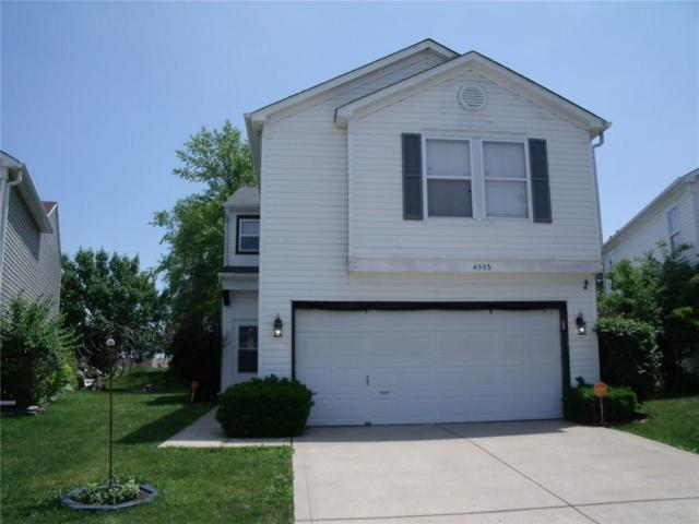 4553 Connaught East Drive, Plainfield, IN 46168 (MLS #21574539) :: The Indy Property Source
