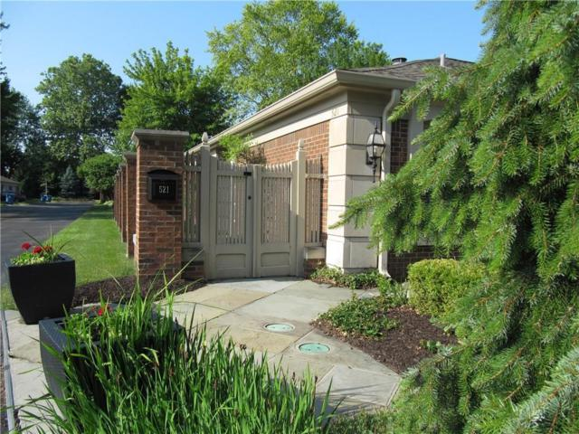 521 Bent Tree Lane, Indianapolis, IN 46260 (MLS #21574798) :: The ORR Home Selling Team