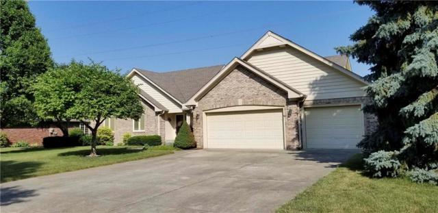 4600 W Hunters Ridge Lane, Greenwood, IN 46143 (MLS #21574803) :: The Evelo Team