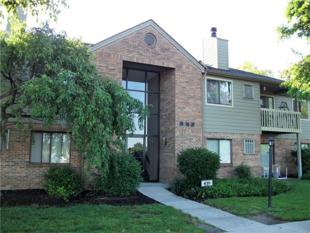 4311 Village Parkway Circle W #2, Indianapolis, IN 46254 (MLS #21574908) :: FC Tucker Company
