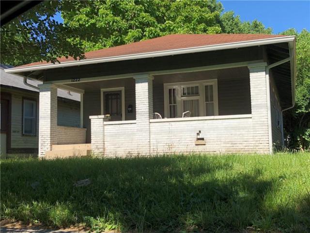 1222 N Rural Street, Indianapolis, IN 46201 (MLS #21575071) :: Indy Scene Real Estate Team