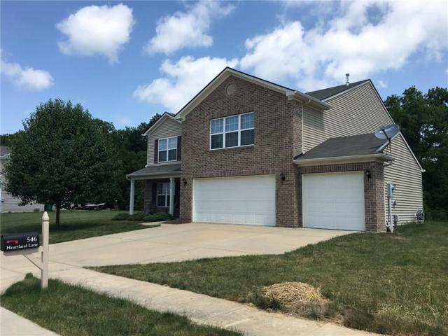 546 Heartland Lane, Brownsburg, IN 46112 (MLS #21575110) :: The Indy Property Source