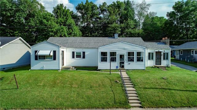 1411 W 10th Street, Anderson, IN 46016 (MLS #21575269) :: The Evelo Team