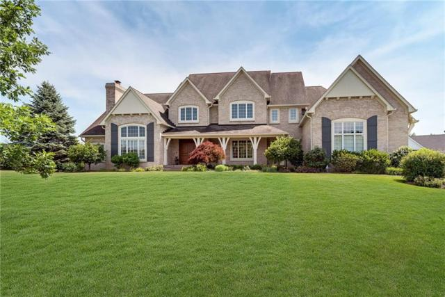 9277 Pleasant View Lane, Zionsville, IN 46077 (MLS #21575284) :: The Evelo Team