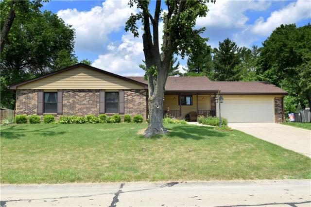 3858 Pineview Lane, Greenwood, IN 46142 (MLS #21575303) :: The Evelo Team