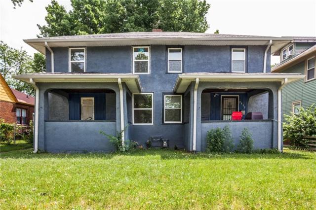 3955 - 3957 N College Avenue, Indianapolis, IN 46205 (MLS #21575333) :: Indy Plus Realty Group- Keller Williams