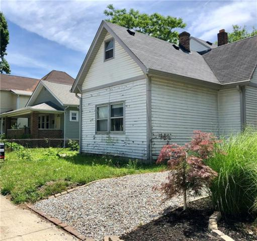 1523 E Ohio Street, Indianapolis, IN 46201 (MLS #21575432) :: The Indy Property Source