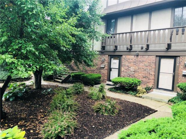 2260 Rome Drive #7, Indianapolis, IN 46228 (MLS #21575467) :: Indy Plus Realty Group- Keller Williams