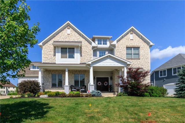 16740 Morris Manor Court, Westfield, IN 46062 (MLS #21575490) :: The Evelo Team