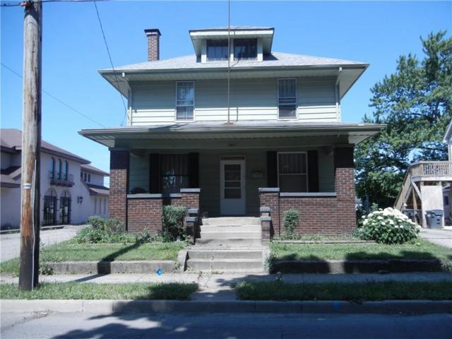 1821 Central Avenue, Anderson, IN 46016 (MLS #21575938) :: The ORR Home Selling Team