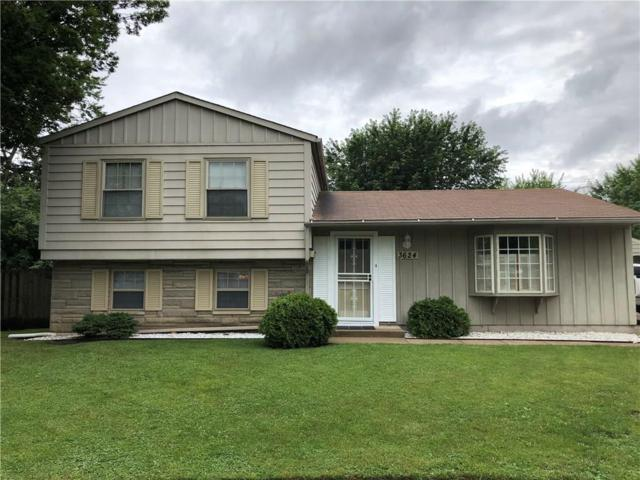 3624 S Kline Drive, Indianapolis, IN 46226 (MLS #21575982) :: Mike Price Realty Team - RE/MAX Centerstone