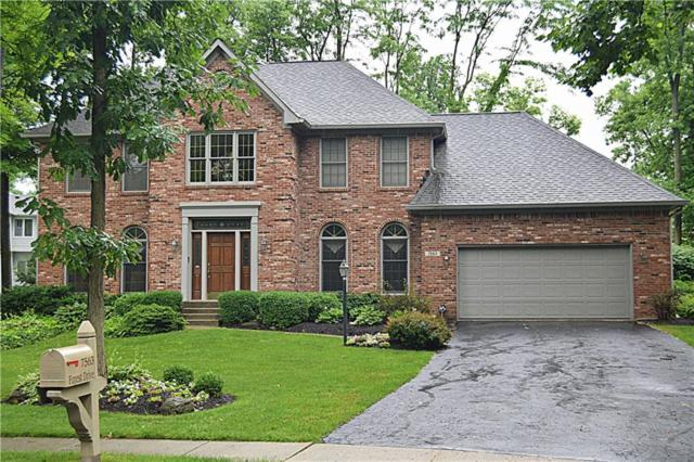 7563 Forest Drive, Fishers, IN 46038 (MLS #21576069) :: Heard Real Estate Team