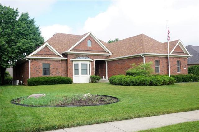 656 Walnut Woods Drive, Greenwood, IN 46142 (MLS #21576228) :: The Evelo Team