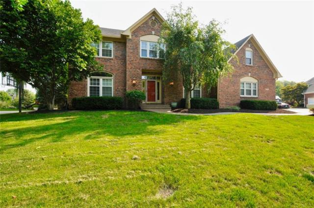 10554 Chestnut Hill Circle, Fishers, IN 46038 (MLS #21576781) :: The Evelo Team