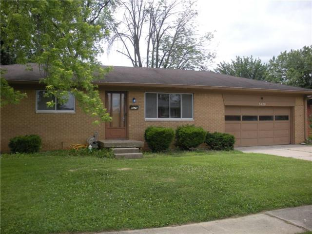 5429 Meadowood Drive, Speedway, IN 46224 (MLS #21576796) :: Mike Price Realty Team - RE/MAX Centerstone