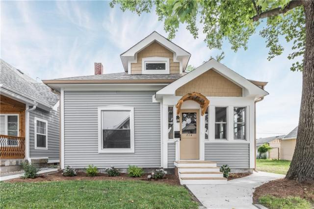 714 Cottage Avenue, Indianapolis, IN 46203 (MLS #21577019) :: The Evelo Team