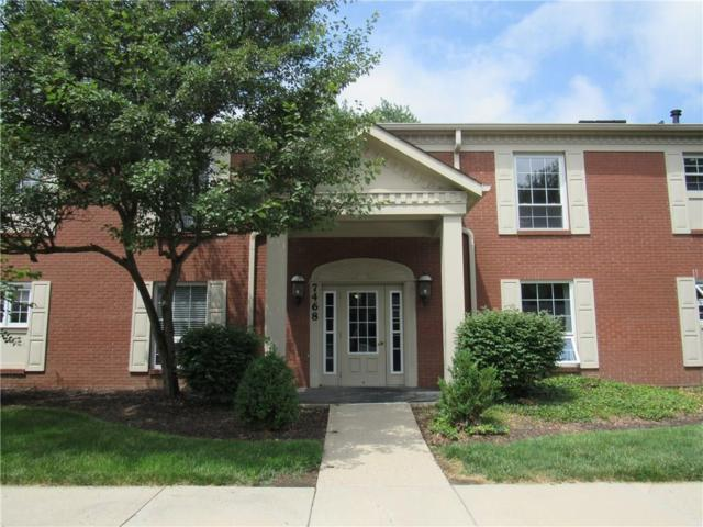 7468 Lions Head Drive C, Indianapolis, IN 46260 (MLS #21578880) :: The Evelo Team