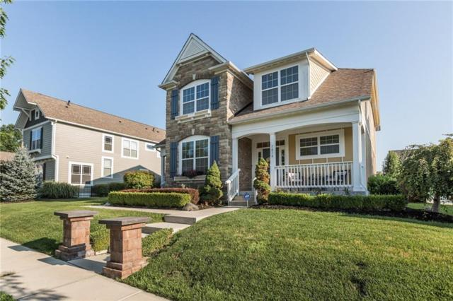 7614 Bishops Green, Zionsville, IN 46077 (MLS #21579337) :: The ORR Home Selling Team