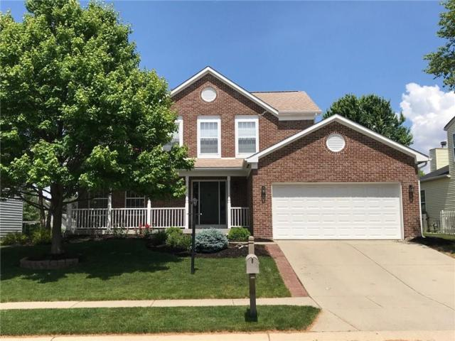 8910 Harrison Parkway, Fishers, IN 46038 (MLS #21579362) :: The Evelo Team