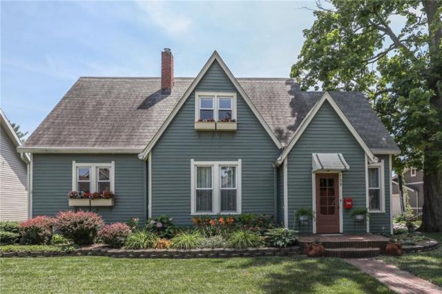 759 E Washington Street, Martinsville, IN 46151 (MLS #21580126) :: The ORR Home Selling Team