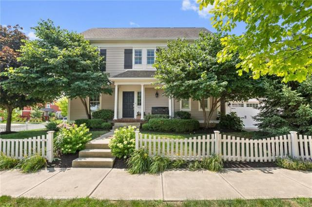 7613 W Stonegate Drive, Zionsville, IN 46077 (MLS #21581384) :: The Evelo Team