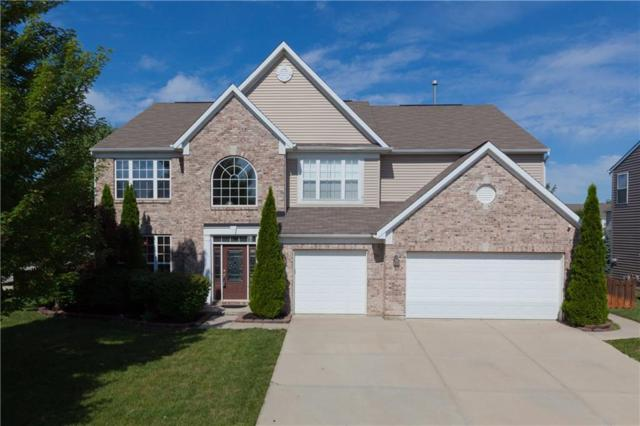 12978 S Ambergate Drive, Fishers, IN 46037 (MLS #21581406) :: Mike Price Realty Team - RE/MAX Centerstone