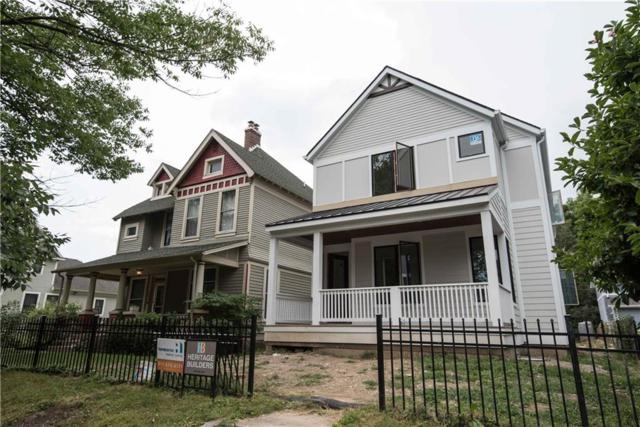 2038 N New Jersey, Indianapolis, IN 46202 (MLS #21581832) :: Indy Plus Realty Group- Keller Williams