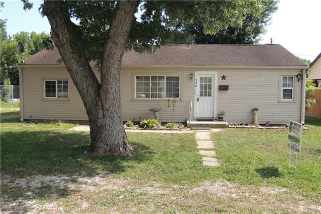 339 E Morris Street, Martinsville, IN 46151 (MLS #21581858) :: The ORR Home Selling Team