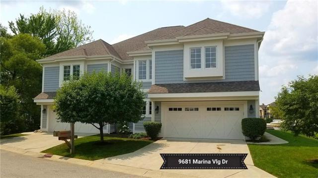 9681 Marina Village Drive, Fishers, IN 46256 (MLS #21582093) :: Richwine Elite Group