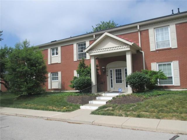 7416 King George Drive C, Indianapolis, IN 46260 (MLS #21582895) :: The Evelo Team