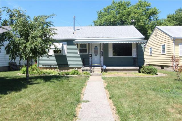 528 S Spencer Avenue, Indianapolis, IN 46219 (MLS #21583171) :: Mike Price Realty Team - RE/MAX Centerstone