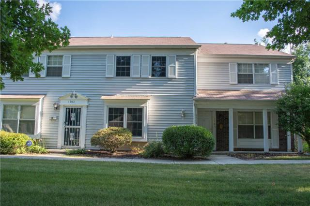 1705 W 79th Street, Indianapolis, IN 46260 (MLS #21583755) :: The ORR Home Selling Team