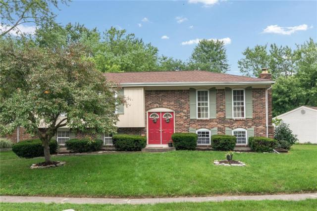 7722 Cambridge Drive, Fishers, IN 46038 (MLS #21583788) :: The Evelo Team