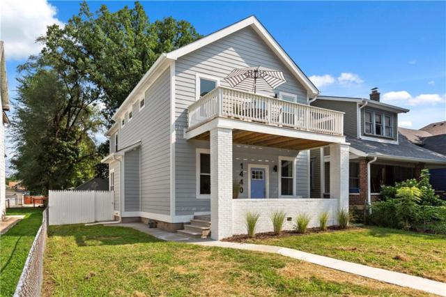 1440 Pleasant Street, Indianapolis, IN 46203 (MLS #21584108) :: The ORR Home Selling Team