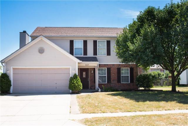 837 Sheffield Drive, Greenwood, IN 46143 (MLS #21584270) :: Mike Price Realty Team - RE/MAX Centerstone