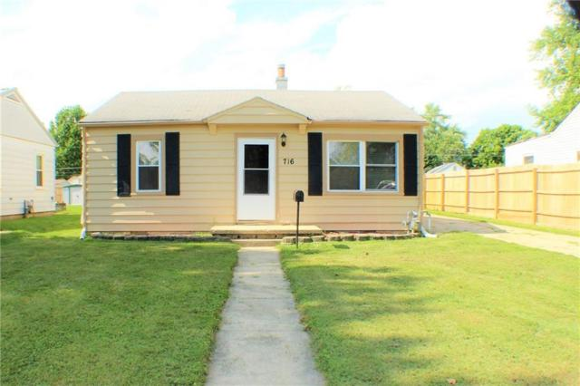 716 Lonsvale Drive, Anderson, IN 46013 (MLS #21584453) :: The ORR Home Selling Team