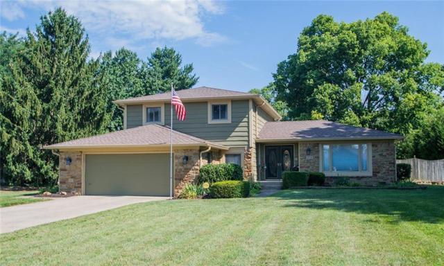 848 W Oakwood Drive, Greenwood, IN 46142 (MLS #21584474) :: The ORR Home Selling Team