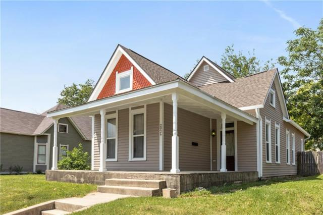 2026 E 10th Street, Indianapolis, IN 46201 (MLS #21584702) :: FC Tucker Company