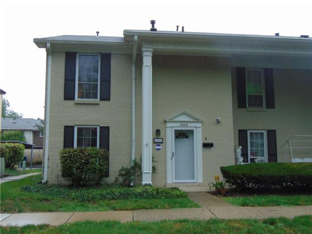 4302 Greenway Drive, Indianapolis, IN 46220 (MLS #21584852) :: The ORR Home Selling Team
