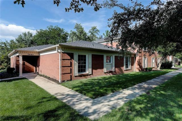 7440 King George Drive, Indianapolis, IN 46260 (MLS #21585476) :: The Evelo Team