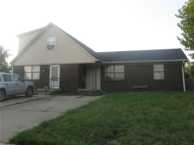 1654 Stonegate Drive, Greenwood, IN 46142 (MLS #21586248) :: The ORR Home Selling Team