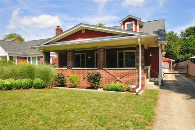 222 W 44TH Street, Indianapolis, IN 46208 (MLS #21586325) :: Indy Scene Real Estate Team