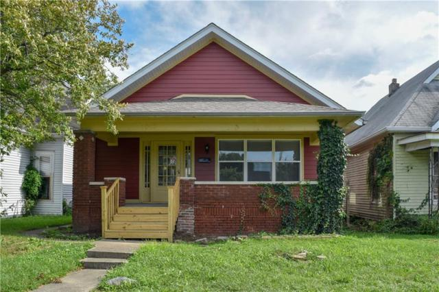 1017 E Raymond Street, Indianapolis, IN 46203 (MLS #21586327) :: Mike Price Realty Team - RE/MAX Centerstone
