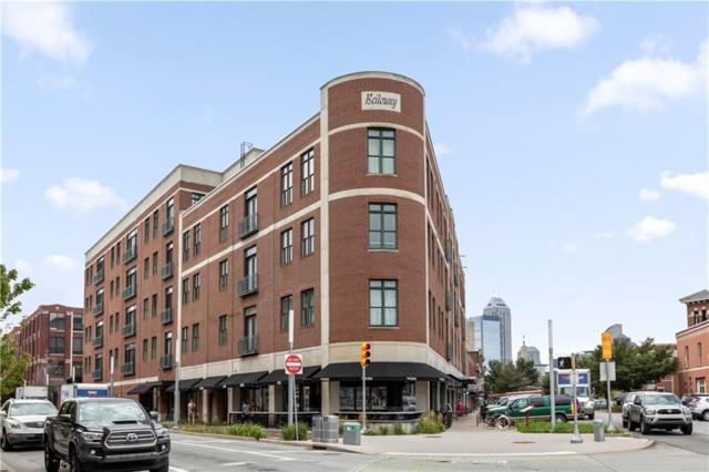 757 Massachusetts Avenue #407, Indianapolis, IN 46204 (MLS #21586491) :: AR/haus Group Realty