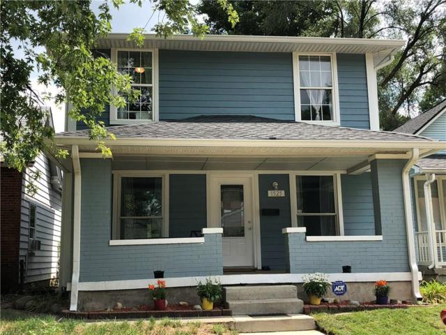 1525 S Linden Street, Indianapolis, IN 46203 (MLS #21587179) :: The Evelo Team