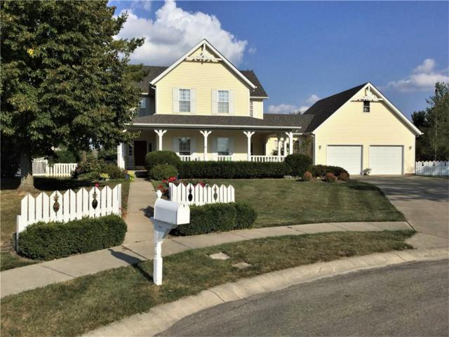 703 S Brune Court, New Palestine, IN 46163 (MLS #21588220) :: The Indy Property Source