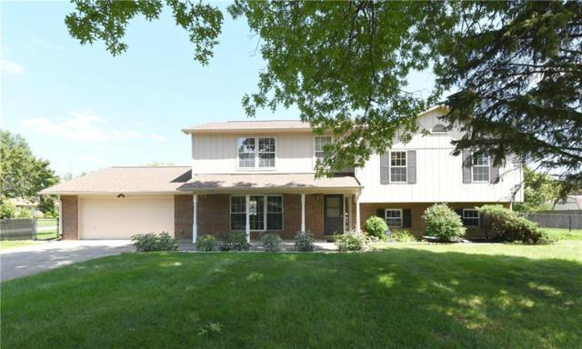 8709 Fox Ridge Lane, Indianapolis, IN 46256 (MLS #21588253) :: Mike Price Realty Team - RE/MAX Centerstone