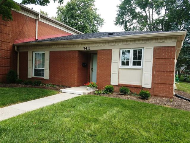 7411 Lions Head Drive, Indianapolis, IN 46260 (MLS #21588424) :: The Evelo Team