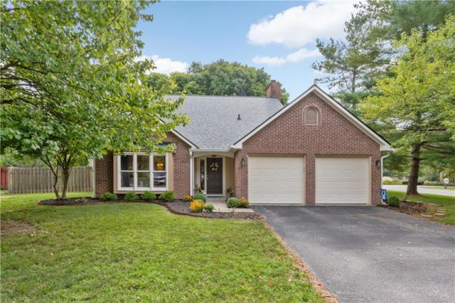 8167 Menlo Court East Drive, Indianapolis, IN 46240 (MLS #21588708) :: The Evelo Team