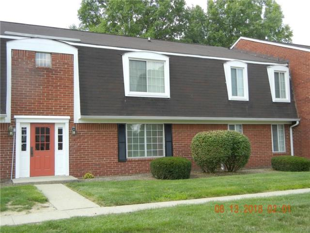 6509 Park Central Way A, Indianapolis, IN 46260 (MLS #21588987) :: The Indy Property Source